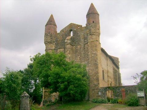 L'église de Mazeres