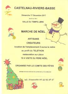 [:fr]Marche de Noël[:] @ Salle du Temps Libre | Castelnau-Rivière-Basse | Occitanie | France