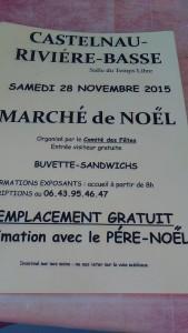 Marché de Noël @ Salle du Temps Libre | Castelnau-Rivière-Basse | Midi-Pyrénées | France