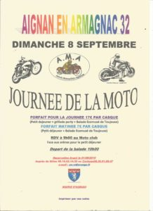 Journée de la Moto @ Moto Club Aignan